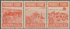 SG 258a ACSC 290e. Produce Food - 3½d Food strip (AE1/255)